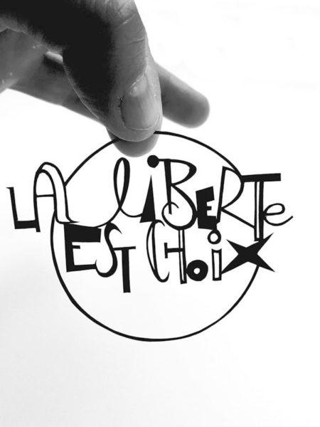 deco murale citation Lettremix
