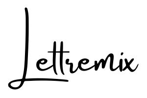 Logo lettremix original